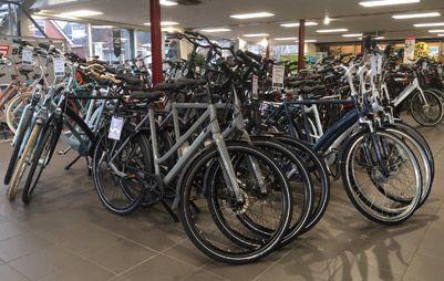 Bekijk nieuwe fietsen